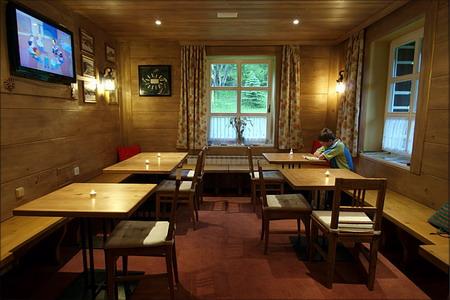 Ubytování Krkonoše - Penzion ve Špindlerově Mlýně v Krkonoších - restaurace
